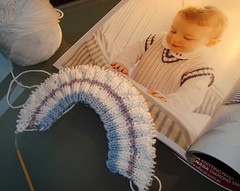 Baby Cabled Slipover