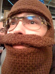 Trammellstache (the ryan king) Tags: beardhead knityourowntrammell