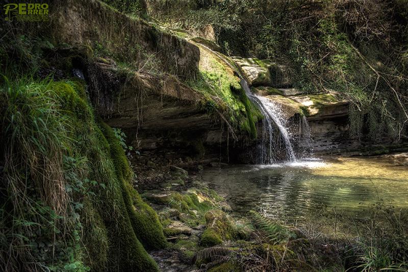 Cascada rio Hijuela - Irús - Valle de Mena - Burgos