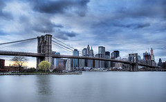 Downtown in Peace (Tony Shi Photos) Tags: nyc newyorkcity cityscape dumbo brooklynbridge hdr lowermanhattan urbanlandscape   downtownmanhattanskyline nikond700    thnhphnewyork  tultonferry tonyshi  fultonempirestatepark