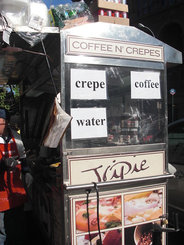 Coffee N' Crepes Cart