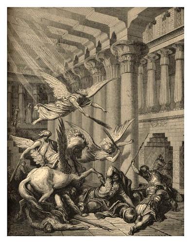 012-Heliodoro castigado en el templo-Gustave Doré