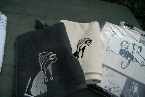Mutts towel by you.