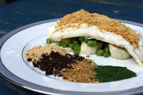 Daring Cooks: Cod with Traditional Flavors Powdered 1