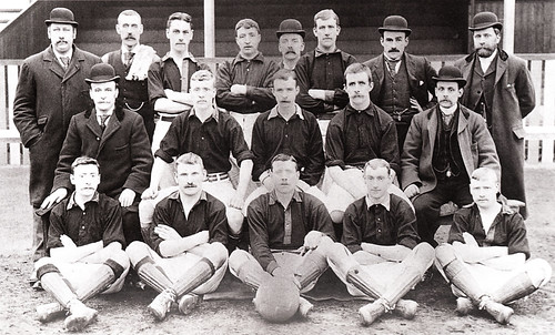 Newton Heath 1894/95 team photograph