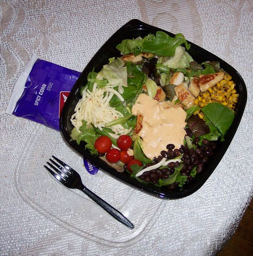 Grilled chicken salad jack in the box