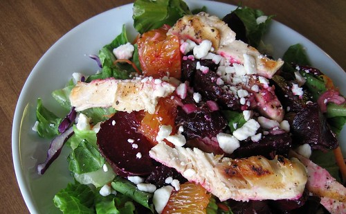 Roasted Beet Salad with Oranges