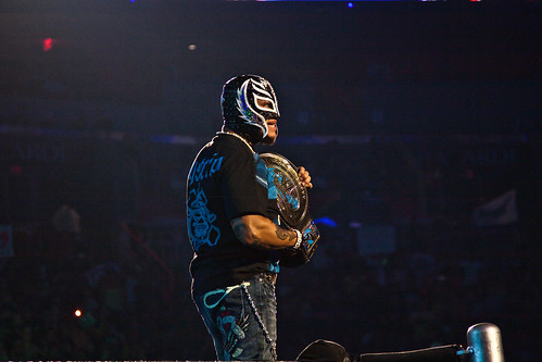 Rey Mysterio por David Seto.