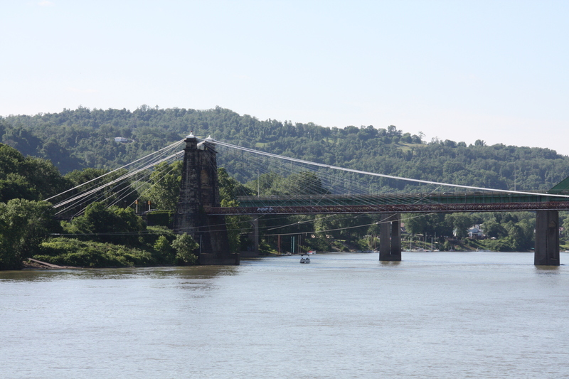 Wheeling Island Bridge