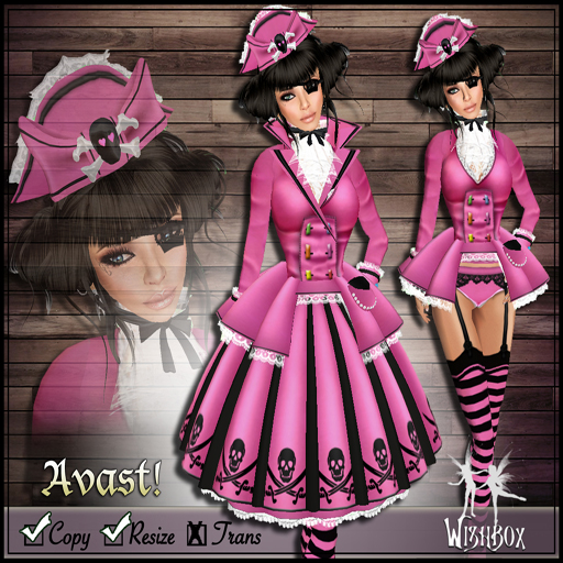 Avast! Pirate Lolita (pink)