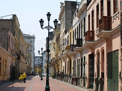 Peru Travel: Colonial streets, Lima