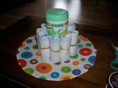 Diaper Cake - Step 3