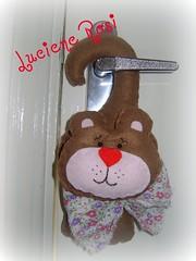 Bichinho de maaneta (Luciene Rosi ) Tags: de handmade feltro ursinho bichinho maaneta