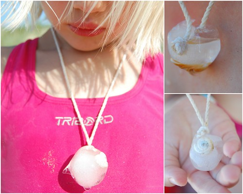 ice cube necklace