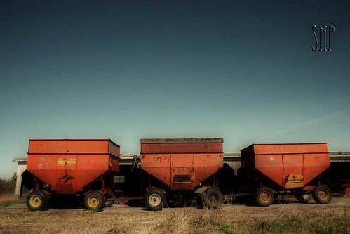 . i love old farm wagons .