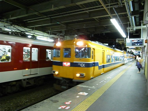 近鉄特急 京都行き