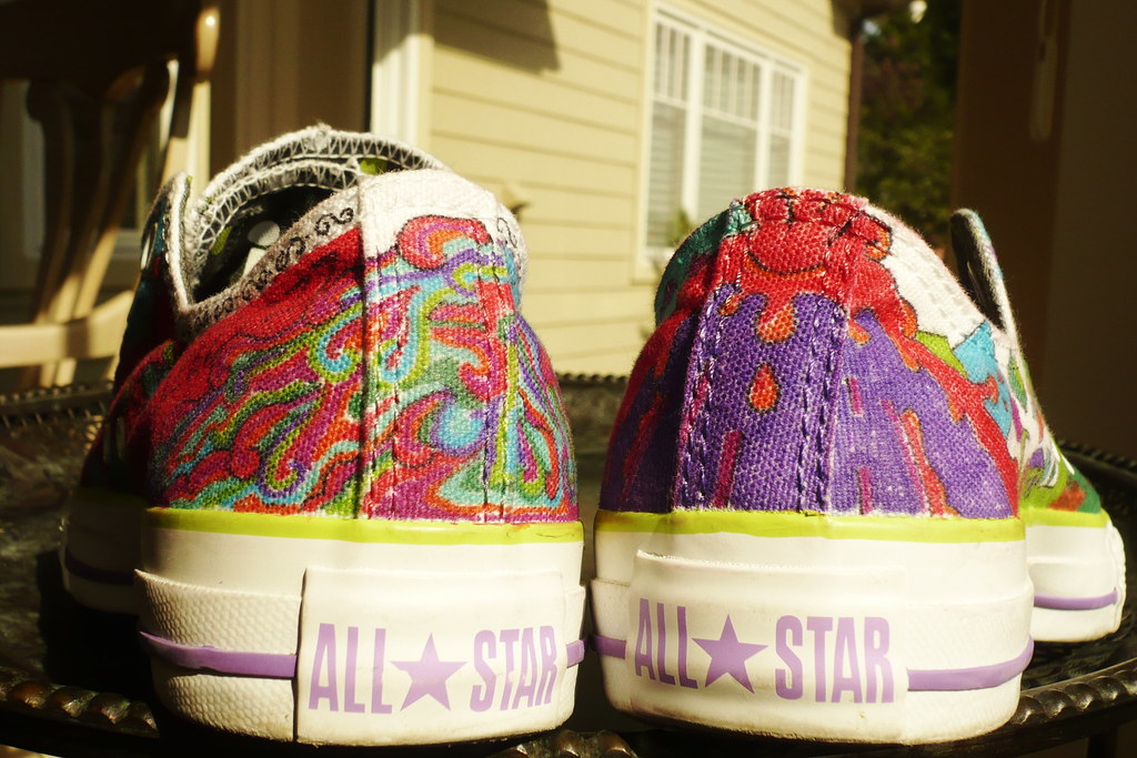 ea45d866eeb85b Heels (Oliv ) Tags  star shoes all converse sharpies decorated heals