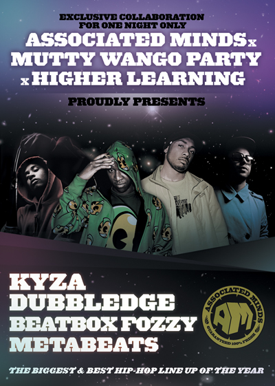 KYZA & DUBBLEDGE FLYER