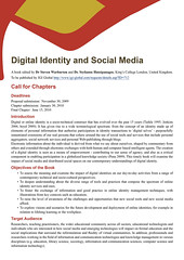 Digital Identity and Social Media Book