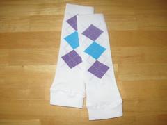 Cozy legs - White
