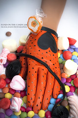 Hand on the candy jar (FR▲NCK JULIEN) Tags: love fashion fun nikon hand candy sweet sugar smarties jar glove hearth rolls d200 jam mode lollypop strawberrys candyjar fraisetagada sb800 strobist sb900 marshmalows