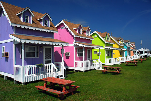 Colorful Cottages by FBrinson.