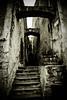 Cirque de navacelle : ancient medieval back alley