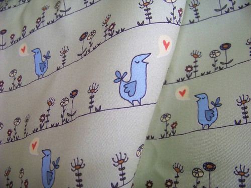 Spoonflower fabric, YAY!