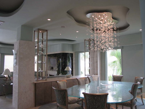 A Bubble Light In The Dining Room