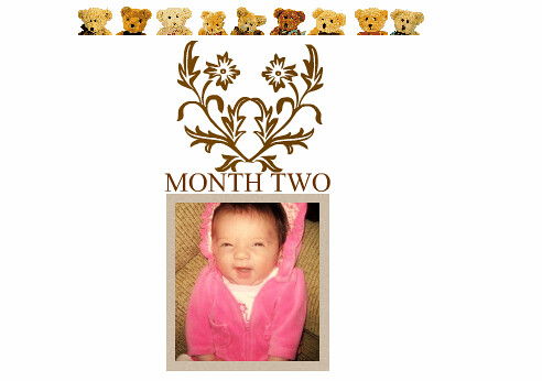 Madisyn Grace, at Two Months