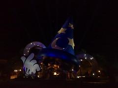 disney hollywood studios at night
