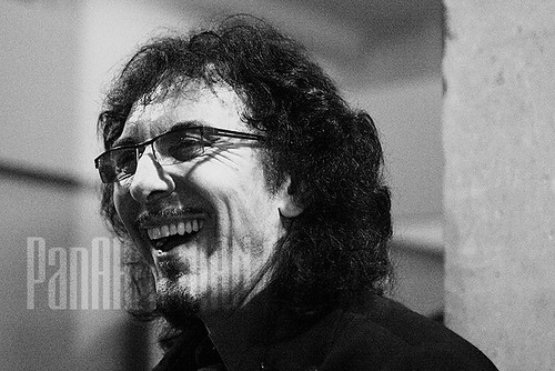 Guitarist of Black Sabbath Tony Iommi