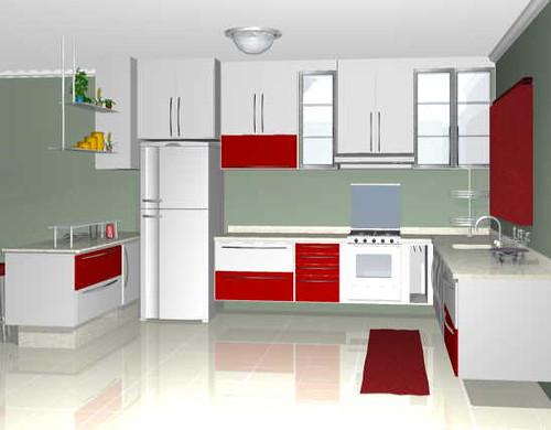 foto cozinha interior decorada