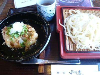 玉ねぎつけ麺