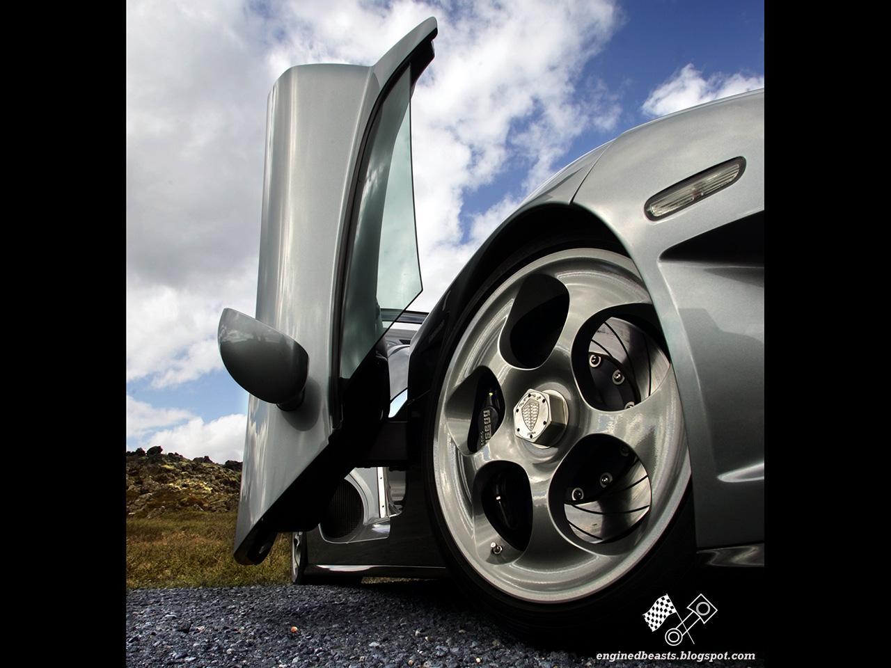 Koenigsegg in Iceland