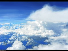 41,000 feet abv ground level (Orphic Exposure ~) Tags: sky color wind background air puff property windy stormy environment breeze heavens subtropical ozone ambience climate aura theblue stratosphere draft ventilation troposphere empyrean temperate squally weatherwise vaultofheaven semblance upperatmosphere zephryr