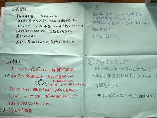 XP祭り2009 朝会ワークショップ