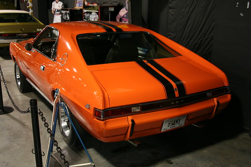 Floyd Garret Muscle Car Museum 69 amx Big Bad Orange