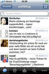Tweetie 2-Screenshot: Timeline