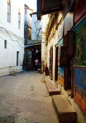 Alleyway in Stone Town, Zanzibar [zan01]