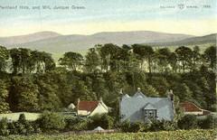 Pentland Hills & Mill Juniper Green c1906