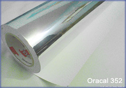 Oracal 352 Reflective chrome vinyl