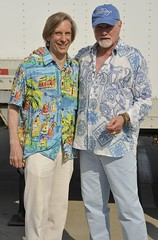 Jeffrey Hedquist & Mike Love of Beach Boys