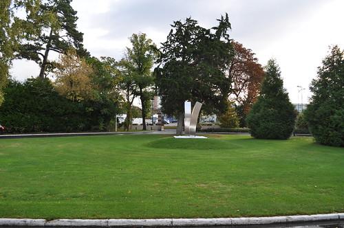 Jardín situado en la Entrada del Hotel