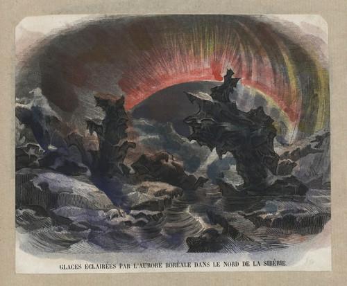 008- Hielo iluminado por la Aurora Boreal en Siberia-Cyprian Kamil Norwid- 1821-1883