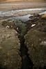 Rien ne pousse le long de la rivière, le sol est trop contaminée  (Crucero, Puno, Pérou, août 2009)