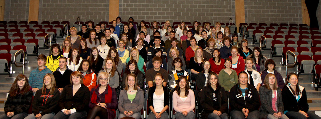 All DHS Honour Roll Students that attended the breakfast. (click to enlarge)