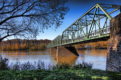 Bridge in Frenchtown New Jersey (NjCarGuy) Tags:
