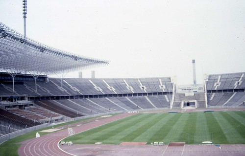 West Berlin 1980 - Olympic Stadium Interior