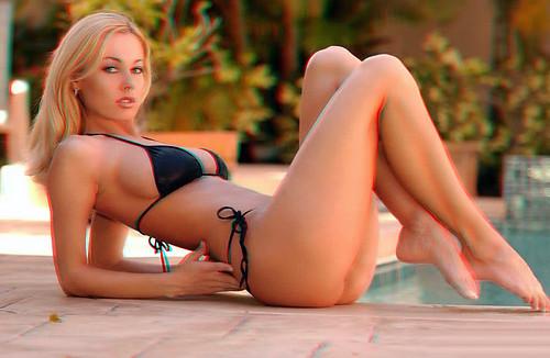Bikini Woman 3D